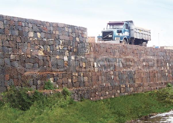 cusco per muro de contencin con gaviones de suelo reforzado - Muro De Gaviones